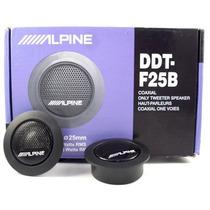 Par De Tweeter Alpine Ddt-f25b Con Filtro Para Grabes
