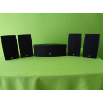 Bocinas Yamaha Ultra Compact 5.0 Surround Sound De Lujo !!