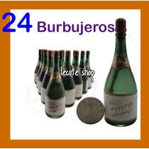 24 Burbujeros Gel Boda Fiesta Evento Xv Años Recuerdo Misa