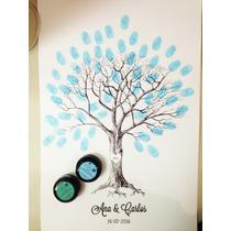 Firmas De Huellas Personalizado Incluye 2 Tintas