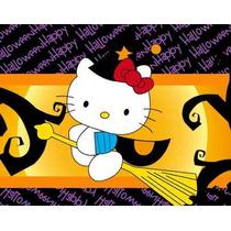 Kit Imprimible Hello Kitty Halloween Invitaciones Cajita 2x1