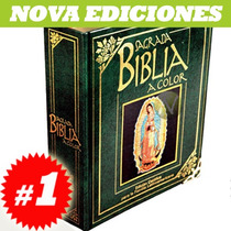 Sagrada Biblia Súper Lujo Metalica Verde
