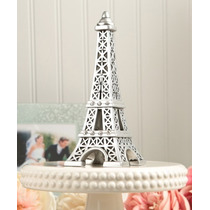 Cake Topper Para Pastel Paris Torre Eiffel 20 Cm
