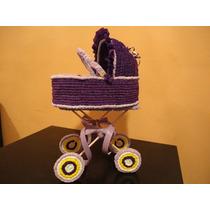 Centros De Mesa Baby Shower Carreola Crepe Grande