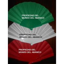 Abanicos Fiestas Patrias,colores Mexicanos,mundo Del Abanico
