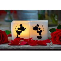 Detalle Mesa Principal Para Boda De Mickey Y Minnie Aluzza