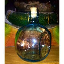 Botellas De Cristal Con Corcho. ( Varios Usos)