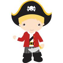 Kit Imprimible Piratas Diseñá Tarjetas Cotillon Invitacion#1