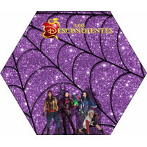 Kit Imprimible Desendientes Disney Cumpleaños Fiesta Torta