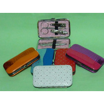 Estuches De Manicure Kit Recuerdo Bodas Xv Años $43 Pz