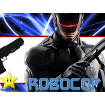 Kit Imprimible Robocop Diseñá Tarjetas Invitaciones Mas 2x1