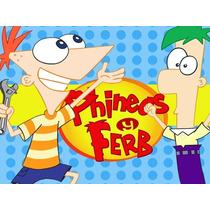 Kit Imprimible Phineas Y Ferb Diseña Tarjetas Invitacione #1