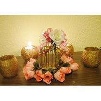 Jaulas Decorativas Mini/vintage Boda/bautizo Mayoreo