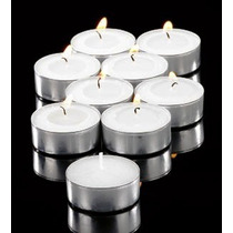 Velas Tealight 100 Pzas Boda Flotantes Sin Aroma Tea Light