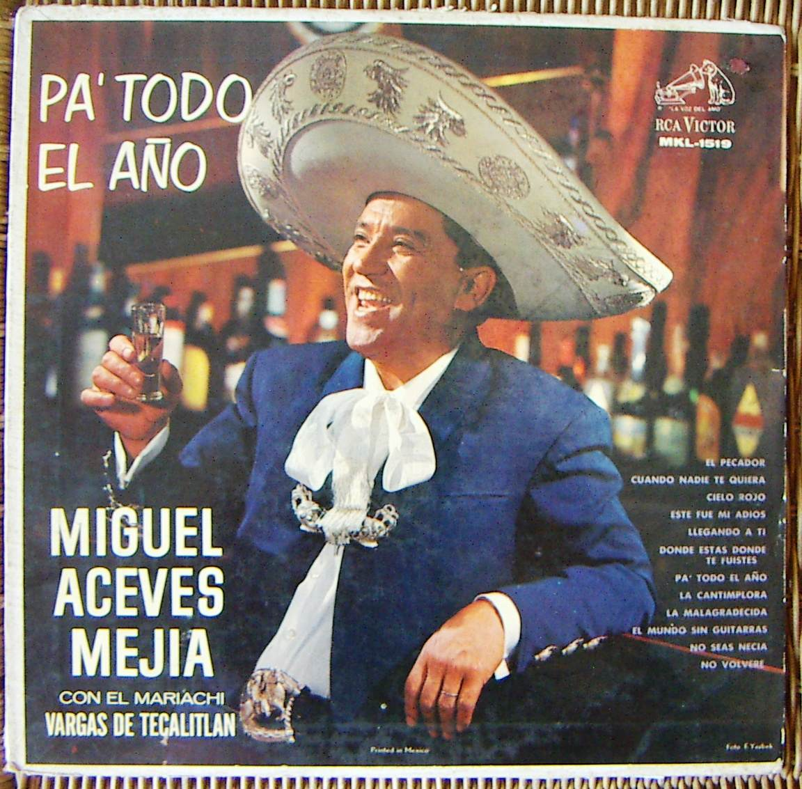 Miguel Aceves Mejia - Canciones Populares Mejicanas