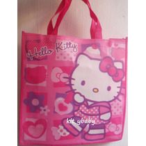 Hello Kitty, Bolsas Reusables Originales De Sanrio