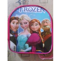 Lote 10 Mochilas Dulceros Frozen Elsa Y Ana