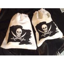 Piratas Bolsas De Tela Para Dulces Artículos De Fiesta