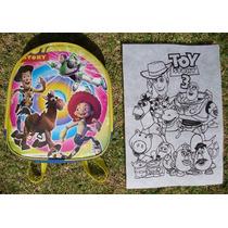 Mochila, Dulcero, Recuerdo Para Fiestas. Toy Story.
