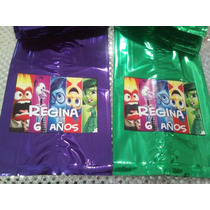 50 Bolsas Celofan Color Para Dulces Intensamente