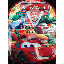 Lote 10 Mochilas Dulceros Cars Rayo Macqueen