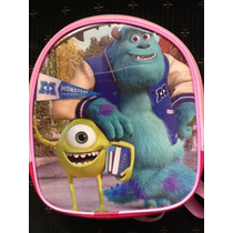 Lote 10 Mochilas Dulceros Monster Inc