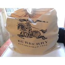 Nueva Bolsa Burberry Original Piel De Buffalo