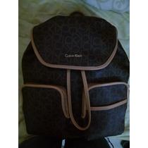 Mochila Backpack Calvin Klein De Lujo Dama Nueva Y Original