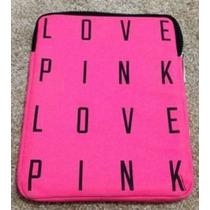 Victorias Secret Love Pink Funda Ipad Tablet Rosa Amyglo