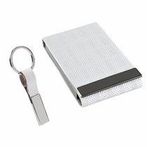 Set Oficina Porta Tarjetas Empresario Blanco