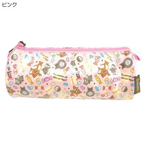 Cosmetiquera Estuche Tubular De Tom & Jerry Rosa
