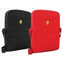 Mochila Ferrari Original Morral Mariconera Ipad Tablet 10