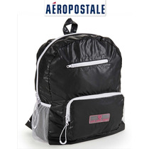 Bolsa Aeropostale Backpack Mochila Negra Live Love Dream Ve!