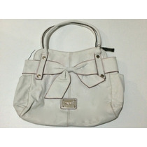 Bolsa Nine West Moño Blanca Super Linda!!