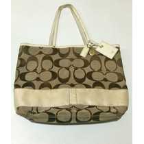 Bolsa Coach Signature Leather Tote Grande 100% Original!!