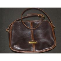 Bolsa Cuero Handbag Piel Liz Claiborne Dama Bag