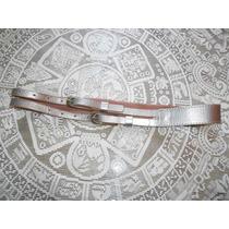 Gap***cinturon Color Plata Talla Chica***