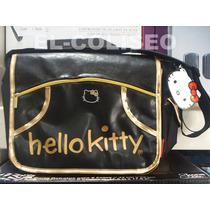 Mochila Tipo Cartero Mensajero Hello Kitty Original D Sanrio