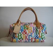 Bolsa D&b Dooney & Bourke Speedy Canvas Multicolor Original