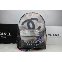 Chanel Grafitti Mochila/backpack