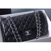 Hermosa Bolsa Chanel Negra 100% Original