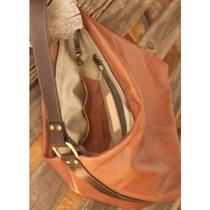 Bolsa Hollister Large Hobo Bag Carry Encubierto Brown