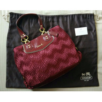 Coach Ashley Gathered Satin Handbag No. H1282-f20050
