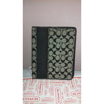 Coach Signature Stripe Ipad Case Original