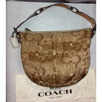 Coach Signature Hobo F0496 Bolsa Original