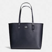 Bolsa Coach Reversible City Tote In Coated Canvas
