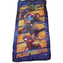 Sleeping Bag Bolsa Dormir Niños Marvel Avengers Nuevo