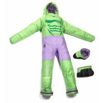Selk Bag Sleeping Traje De Dormir Acampar Hulk Ch, M, G