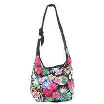Lilo & Stitch Exclusiva Bolsa Hobo Floral Disney Loungefly