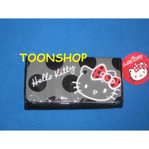 Hello Kitty Linda Cartera / Billetera Coleccion Polka Dots